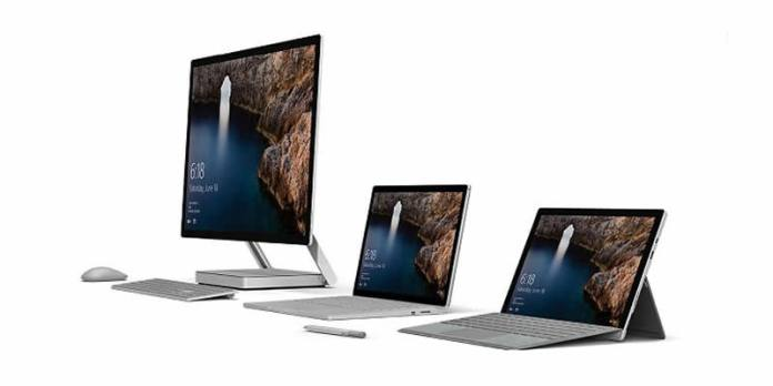 Microsoft Announced Surface Studio PC And Surface Book i7