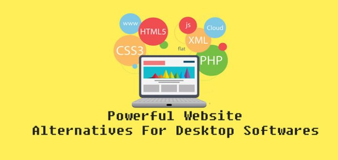 powerful websites that can replace your desktop softwares