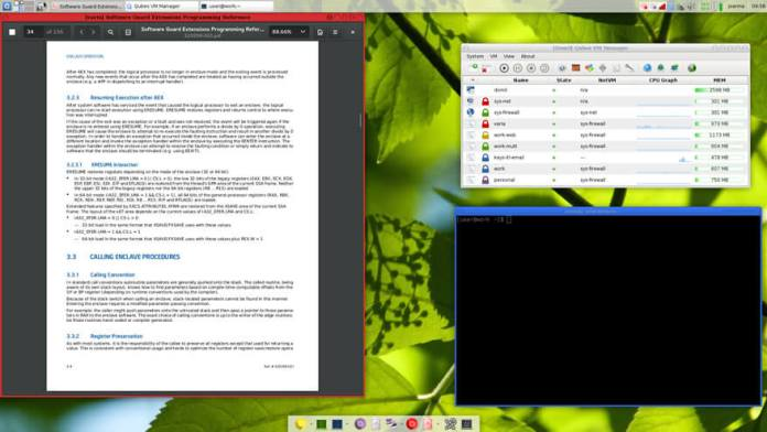 Qube OS - secure and privacy-focused linux distro
