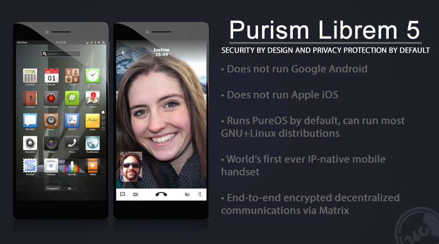 Librem 5 — Security and Privacy Focused Pure Linux-Based Smartphone Coming Soon