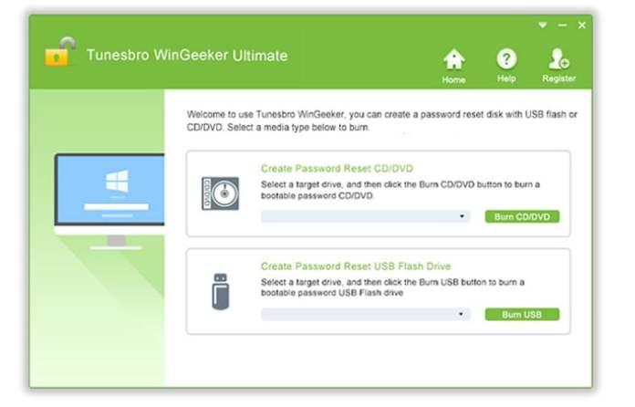 Windows password unlock
