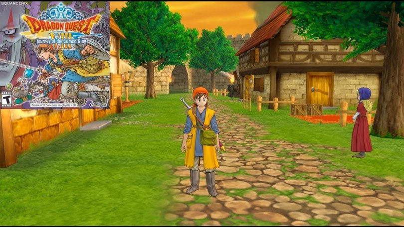 Dragon Quest VIII- Journey of the Cursed King