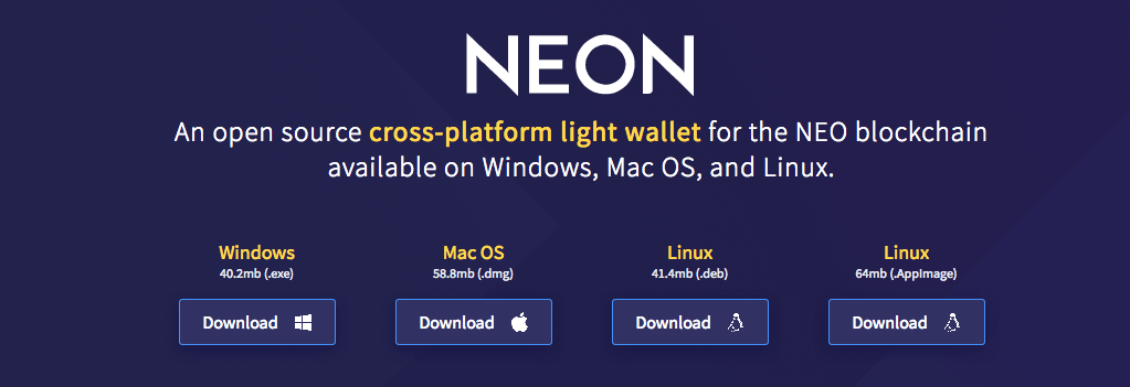 NEON-wallet
