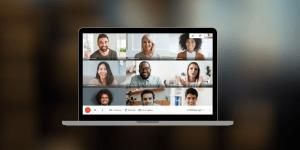 google meet background blur participants polling meeting gets