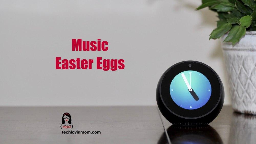 Amazon Alexa Music Easter Eggs