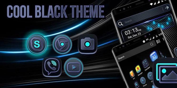 Cool Black Theme
