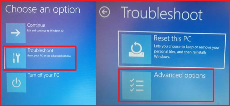 windows 10 safe mode with shift key and restart