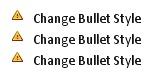 Error Bullet Style