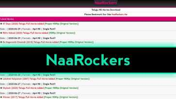 NaaRockers Telugu Movies Download New Telugu HD Movies Free