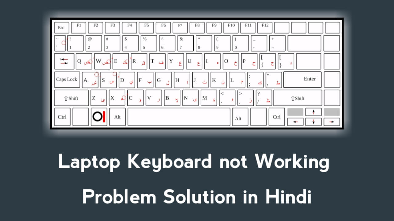 Laptop keyboard not working Problem Solution