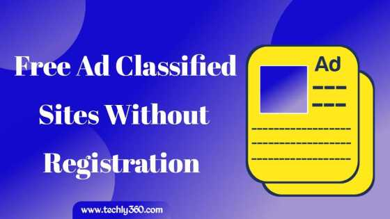 100+ Free Ad Classified Sites Without Registration List | Post Free Ads