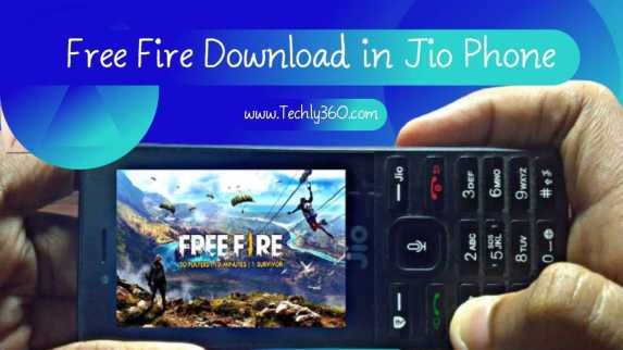 Gerena Free Fire Download in Jio Phone Game Link