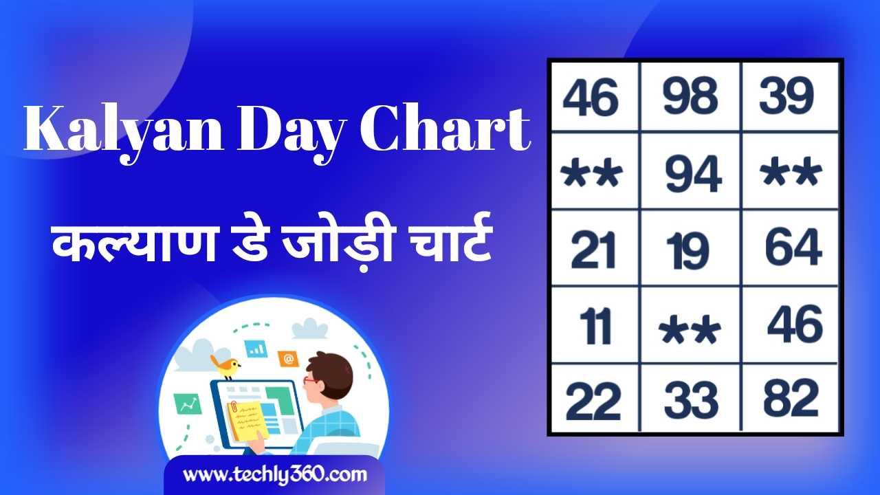 Kalyan Day Chart, Kalyan Chart – कल्याण चार्ट, कल्याण डे चार्ट