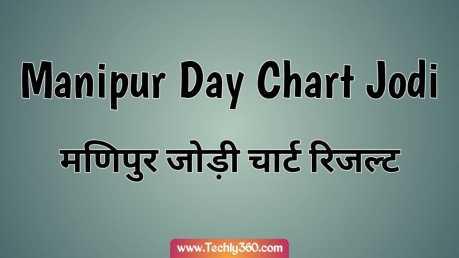 Manipur Day Chart, Manipur Jodi Chart – मणिपुर डे चार्ट, मणिपुर जोड़ी चार्ट