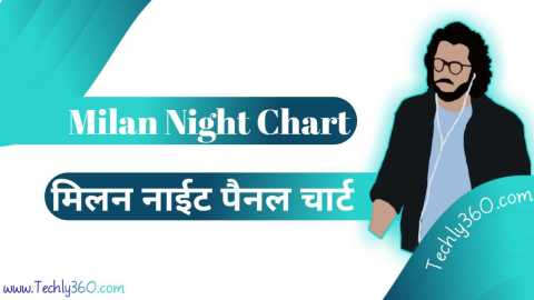 Milan Night Chart, Milan Night Pannel Chart: मिलन नाईट चार्ट, मिलन नाईट पेनल चार्ट