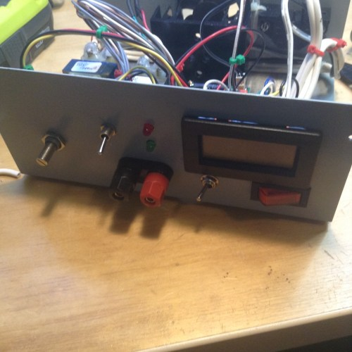 small resolution of front panel view not perfect needs labelling but good enough