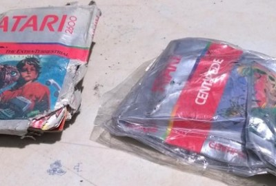 LOST ATARI GAME CARTRIDGES FOUND IN NEW MEXICO LANDFILL