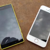 Apple iPhone SE vs Sony Xperia Z5 Compact (2)