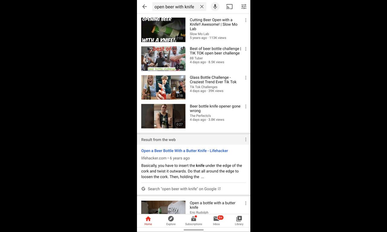 Αποτελέσματα του Google search στις αναζητήσεις του YouTube   Techmaniacs