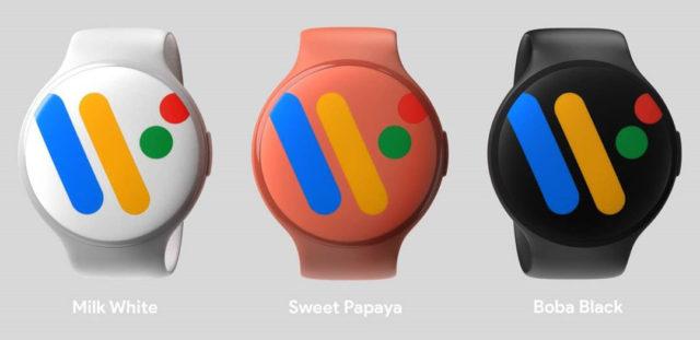 Google Pixel Watch first renders