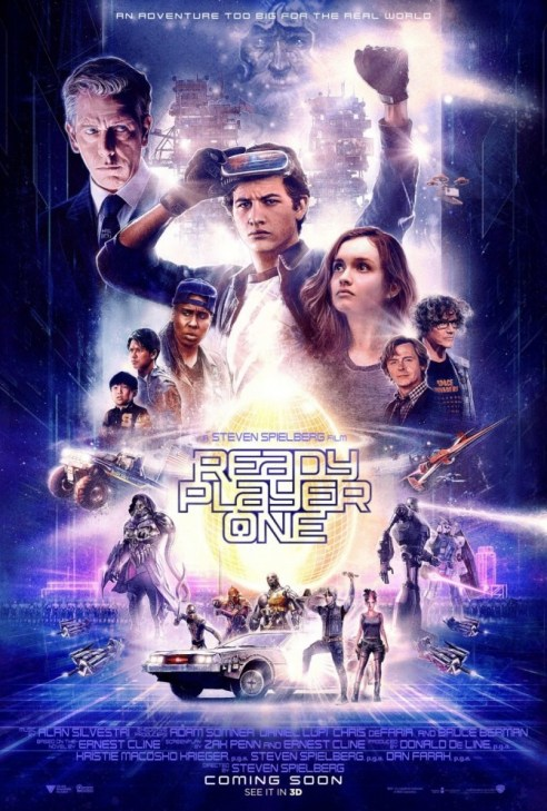 Ready Player One! Movie Poster! http://techmash.co.uk/2018/02/15/ready-player-one-movie/