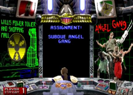 Judge Dredd Arcade Gameplay Midway 1992 Techmash