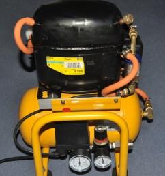 fridge compressor air compressor [ 1058 x 1265 Pixel ]