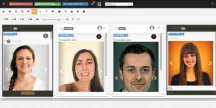 A platform for teams to chat, collaborate, share attachments, manage projects and tasks and interact with clients called Graphical.IO