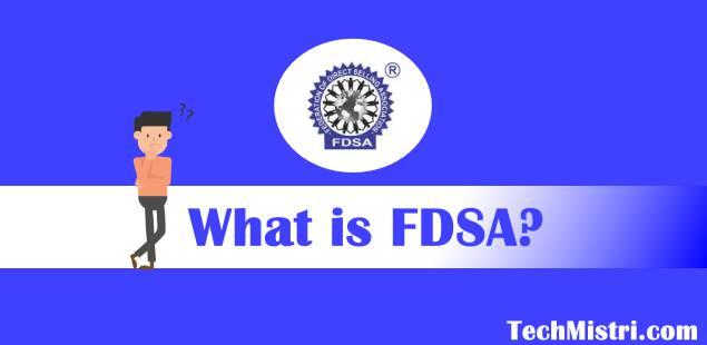 what is FDSA in hindi