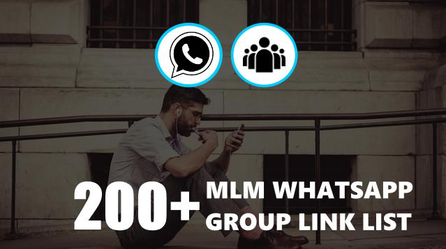 Join 200+ MLM Whatsapp Group Link List India
