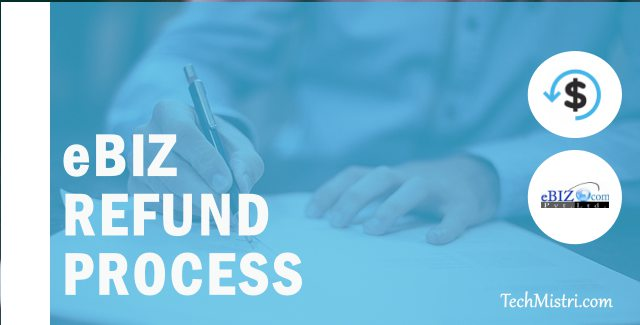 eBiz Refund Process