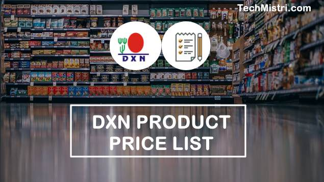 DXN-Product-Price-List