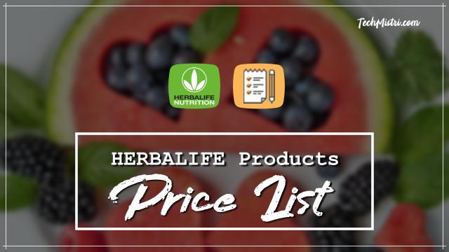 Herbalife-Product-Price-List