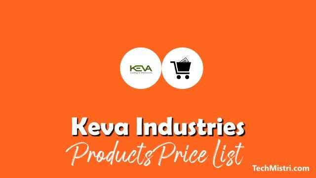 Keva-Products-Price-List-1