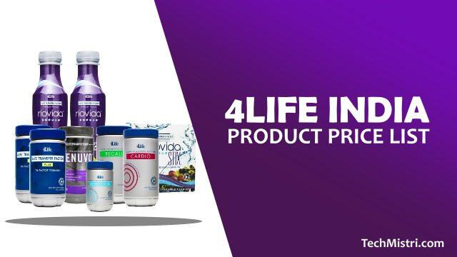 4Life-India-Product-Price-List-