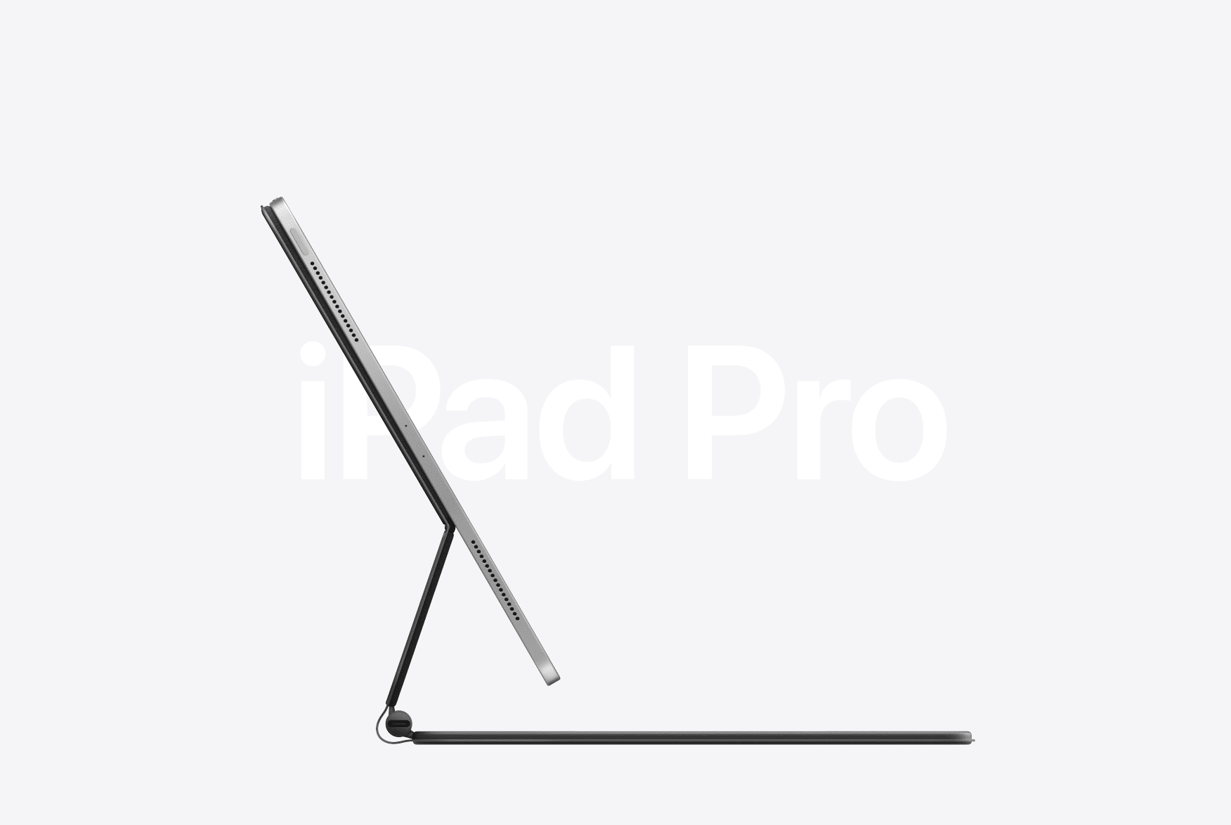 Apple unveils the new iPad Pro with Magic Keyboard