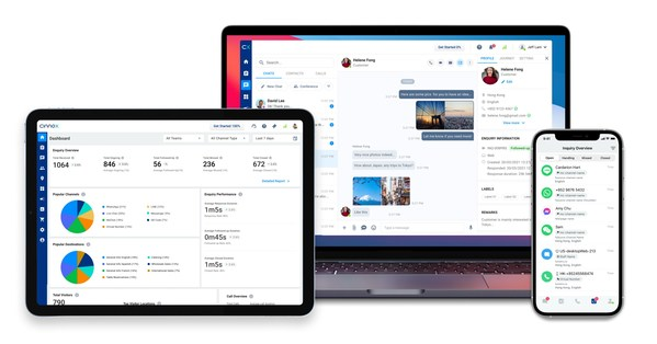 CINNOX is a total experience SaaS platform that elevates customer and staff experiences with innovative omnichannel engagement and analytics solutions. It helps businesses to CONNECT, ORCHESTRATE, and securely EVALUATE all of their customers' conversational interactions to deliver seamless humanised customer engagement that delights and exceeds expectations.