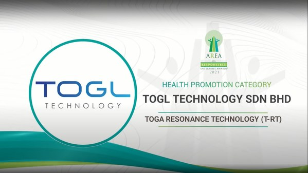 TOGL Technology Sdn Bhd awarded for Health Promotion Category at the Asia Responsible Enterprise Awards 2021