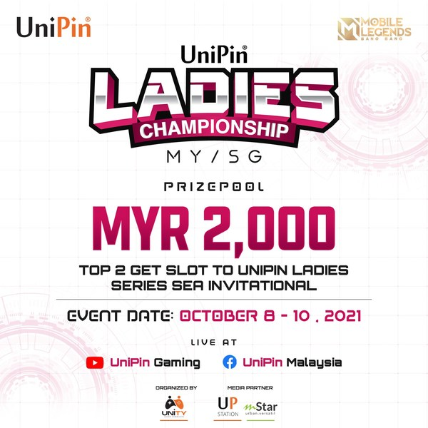 UniPin Ladies Championship Malaysia will be held from October 8-10, 2021