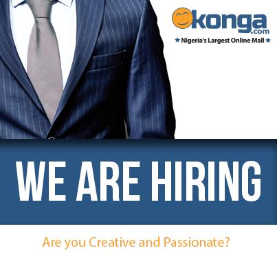 Konga.com is hiring