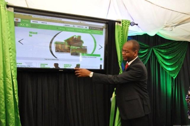 KCB Group CEO Joshua Oigara reveals the new website