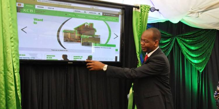 KCB Group CEO Joshua Oigara reveals the new website