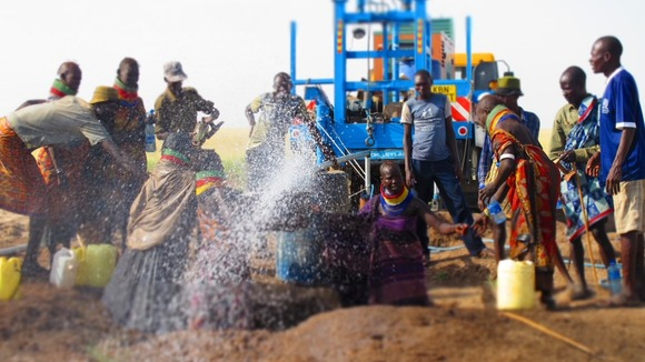New Technology Aids Kenya to Strike 70 Year's Worth of Underground Water