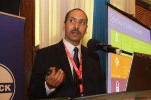 Microsoft East Africa's service Solution Sales Lead, Hesham Ali
