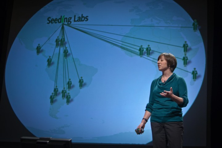 Dr. Nina Dudnik CEO and Founder Seeding Labs