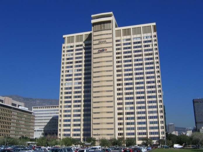 Naspers Building in Cape Town (Wikipedia)