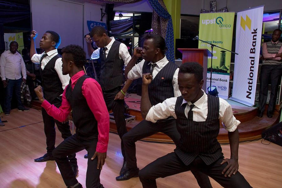 dancers at launch