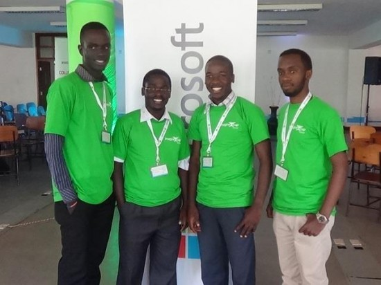 Matibabu team at the Imagine Cup Challenge