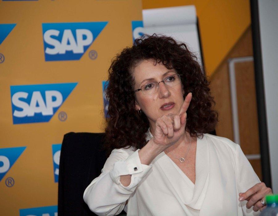 Estelle de Beer, Manager for Database Technology at SAP Africa