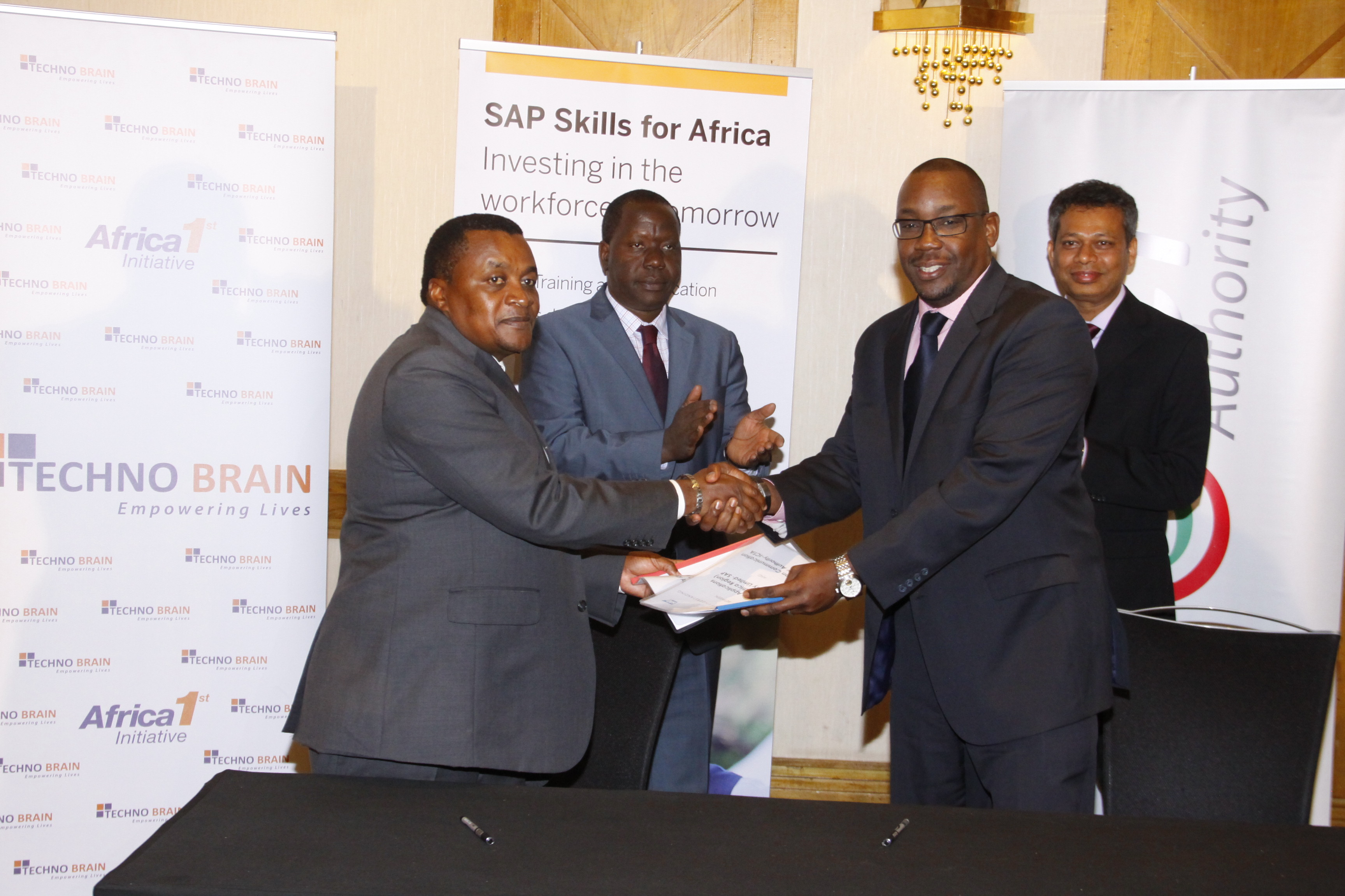 MOU Signing ceremony, SAP Skills for Africa Program, ICT Authority & SAP